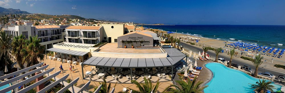 A warm welcome to the sentido aegean pearl on crete which combines an unforgettable beach holiday at the seaside with the lively city lifestyle of