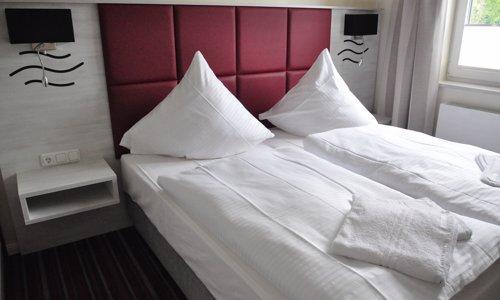 Apartment mit 2 Schlafzimmer für bis zu 3 Personen