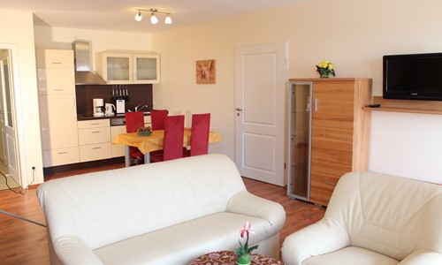 Suite mit Terrasse und Sauna